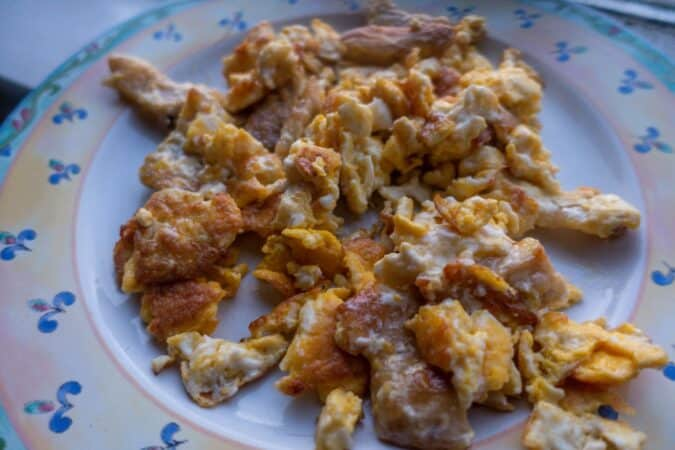 carnivore scrambled eggs recipe