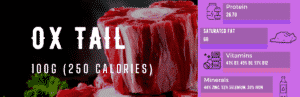 ox tail nutrition