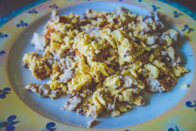 carnivore brains scrambled egg recipe